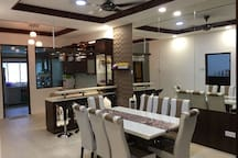 HAVE A MEAL IN A SPACIOUS DINING HALL