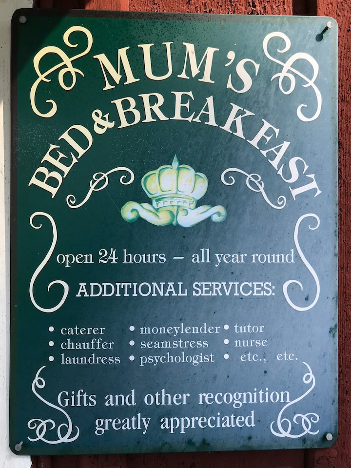 Mum's bed and breakfast