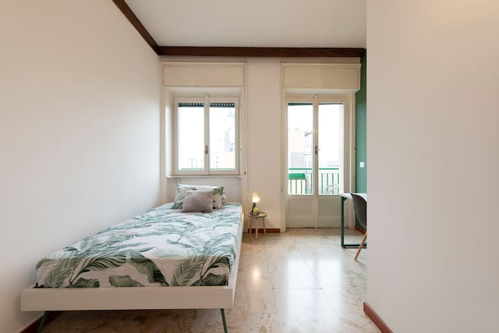 Private Room with Balcony - Area Bocconi