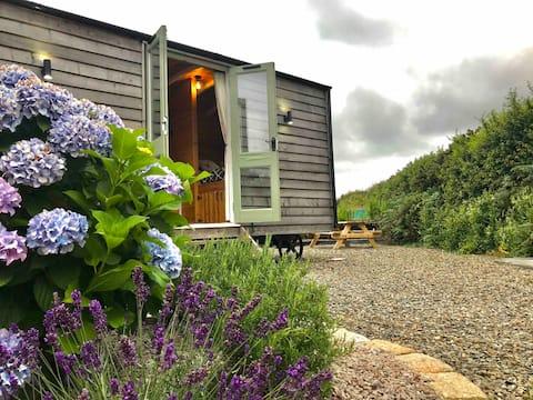 ✨ Luxury Shepherds Hut Newquay Set in Countryside✨