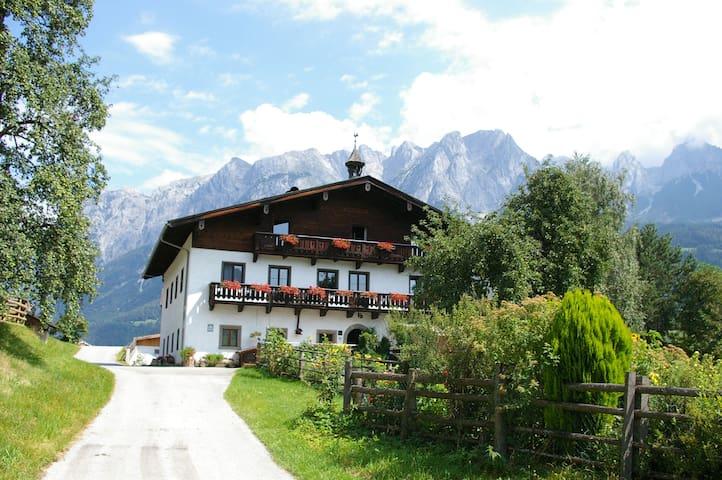 Urlaub am Bauernhof mitten im Salzburger Land