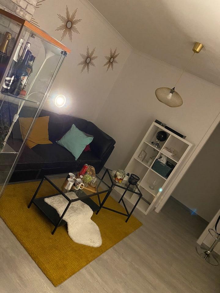 Chambre individuelle dans un appartement commun