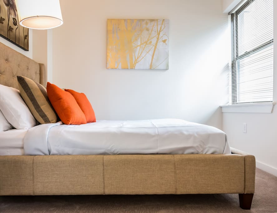 Second Bedroom at The Commonwealth by Stay Alfred