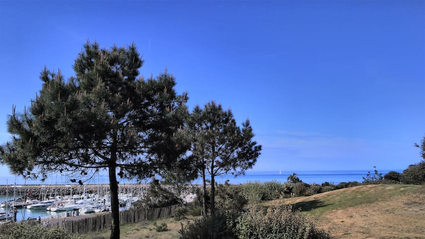 vue port, mer et golf!