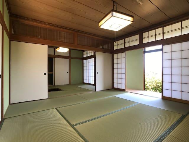 熊本県八代産のい草を使用した畳です。