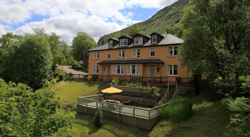 Scenic Apartment at B&B - Twin Room - Shared Bath - Kinlochleven - Pis