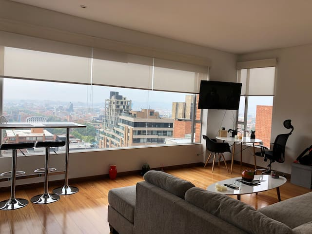 Private room in luxury apartment with amazing view