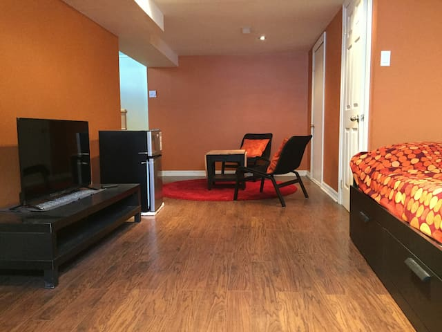 Warm and Spacious Place to Stay, Near Downtown