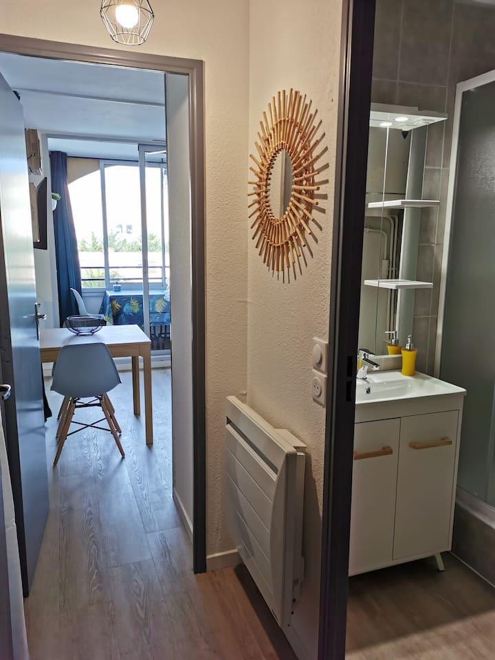 Petit appartement cocooning doté de la WI-FI