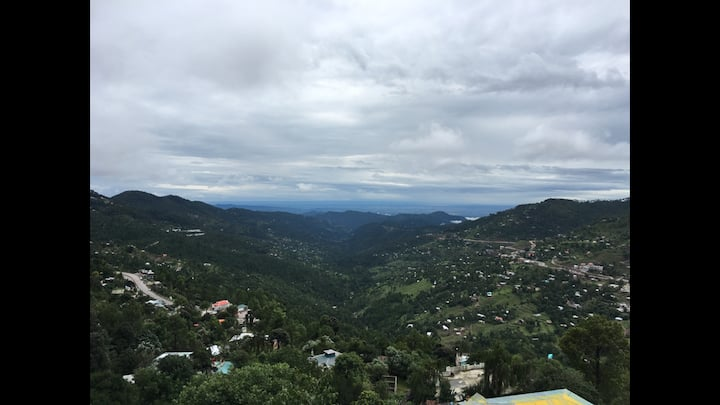 Stunning view furnished private apartment Murree