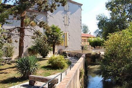 Gîtes du meunier - Port-Sainte-Marie - Дом