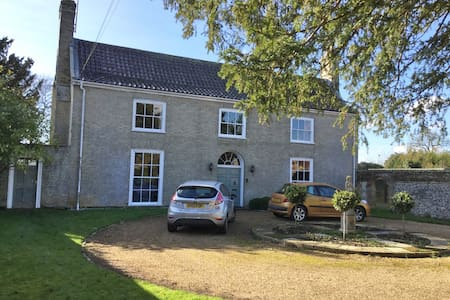Georgian house near Bury St Edmunds - 베리 세인트 에드먼즈(Bury St Edmunds)