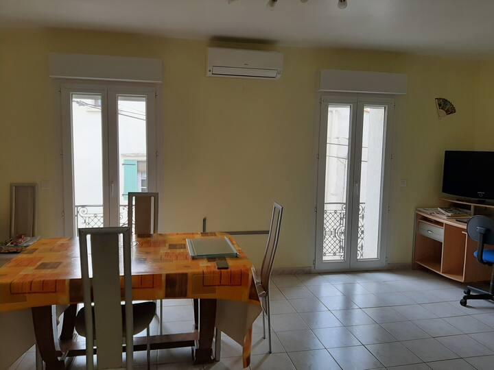Appartement F3 en étage d'une maison familiale