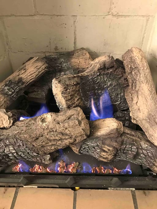 Vent-free gas logs will warm your bones this winter.