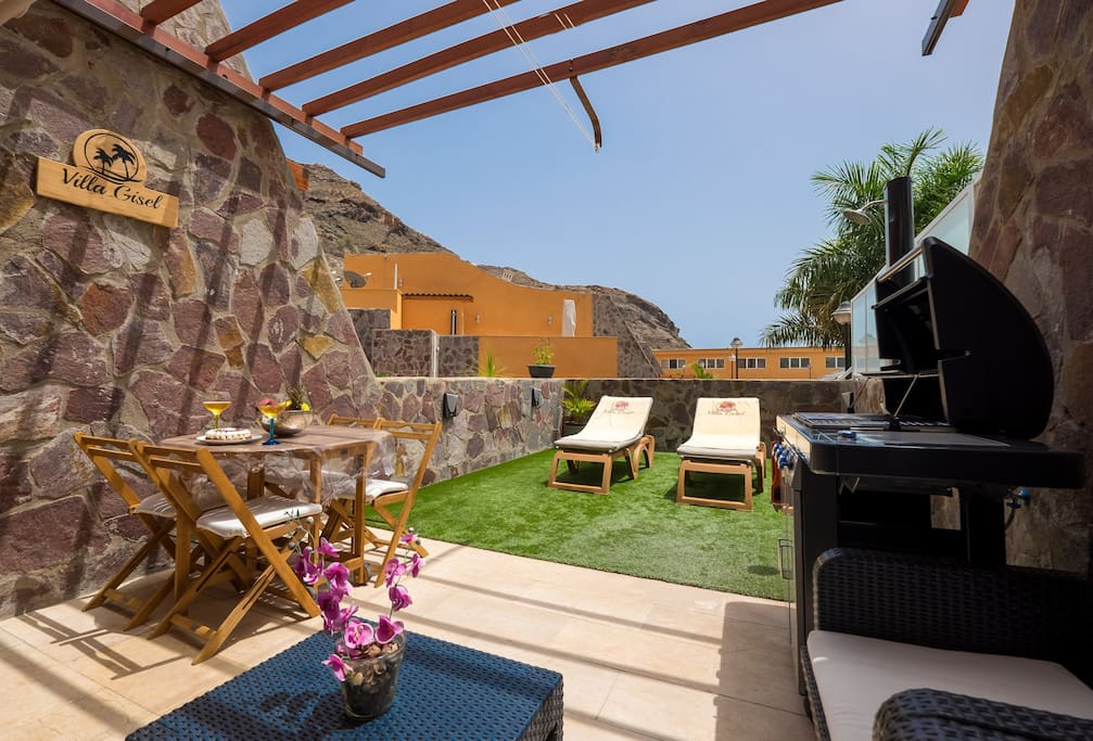 Sunny and luxury terrace