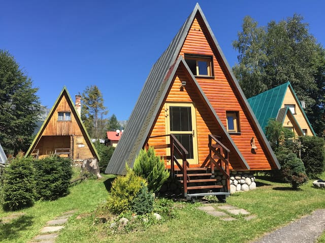 Lovely cabin in mountain village
