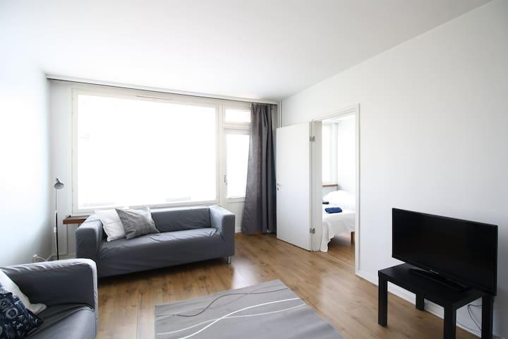 Three-bedroom apartment with a balcony in Porvoo city center - Aleksanterinkatu 22
