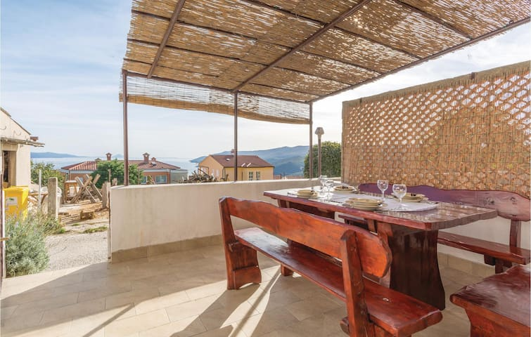 Holiday apartment with 1 bedroom on 45m² in Rabac