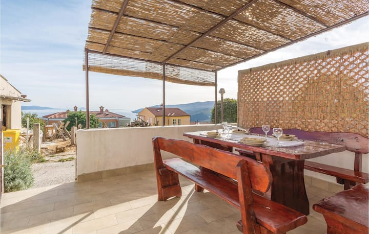 Stunning home in Rabac with WiFi and 1 Bedrooms