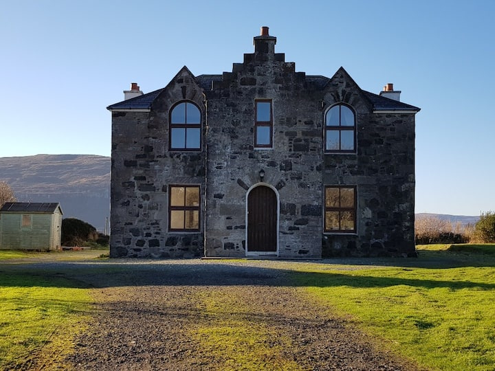 Lochbay House - Beautiful loch side property -Skye