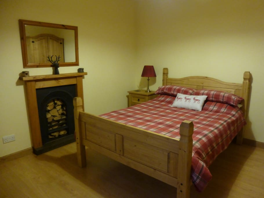 Newly remodelled double bedroom