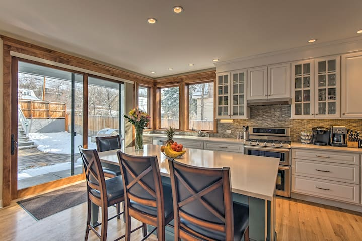 'Two Magnolias' is an updated vacation rental duplex in Whittier Neighborhood.