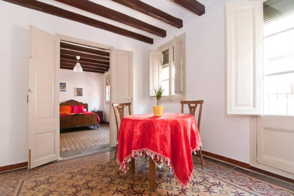 Chambre double dans le centre de barcelone appartements - Chambres d hotes barcelone centre ville ...