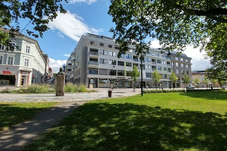 Room in newer apartment downtown Hamar - Hamar - Apartment
