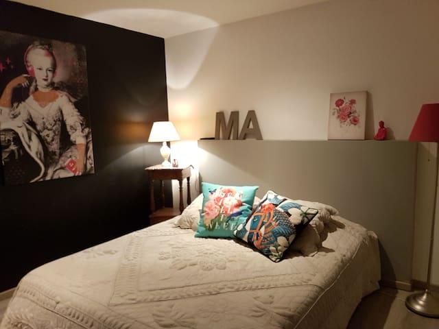 Ma chambre sur Jardin ..