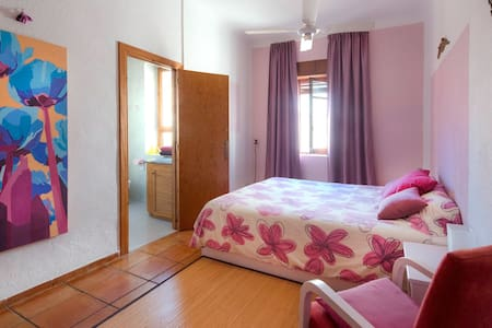 Room in the center of Altea with private bathroom