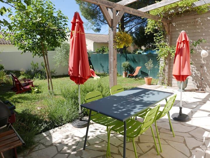 Maison  climatisée proche Montpellier et plages