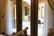Guest Suite to Courtyard
