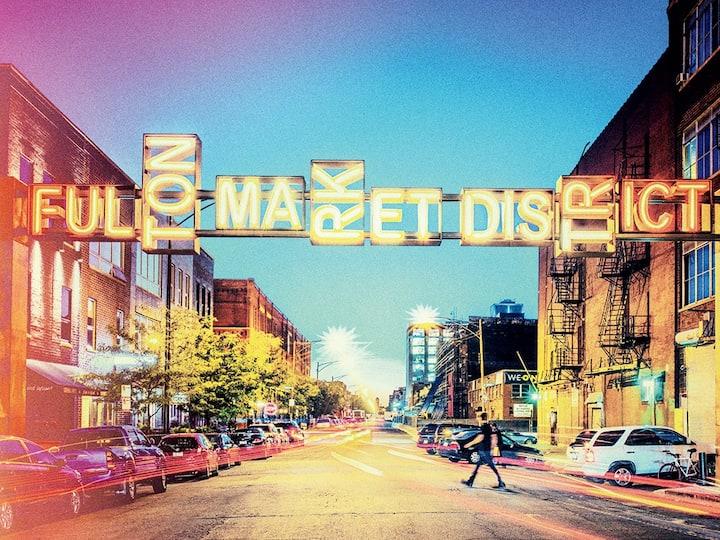 Fulton Market Loft: 2bd/2ba + Prvt Patio & Yard