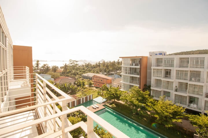 1 bedroom sea view @ Klong muang beach