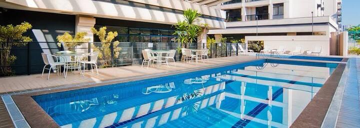 Congonhas Aeroporto melhor hotel resort.conforto