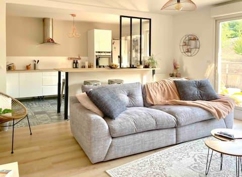 Superbe appartement avec terrasse plein sud