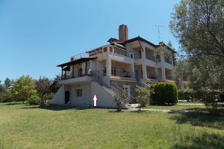 Sweet CornerMaisonete with Panoramic & Garden view - Chalkidiki - Dům