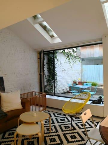 Appartement 2 chambres avec patio