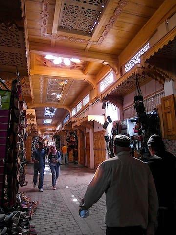 Chambre privée au cœur de l'ancienne médina Rabat