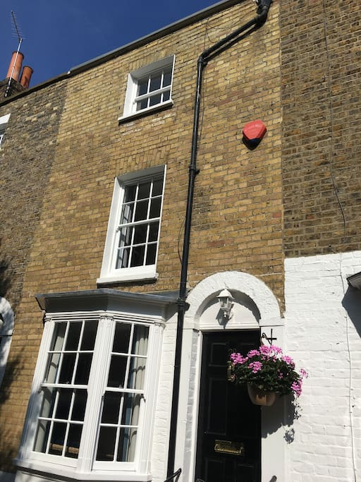 Classic townhouse set over 4 floors (with original, steep stairs between each floor!)