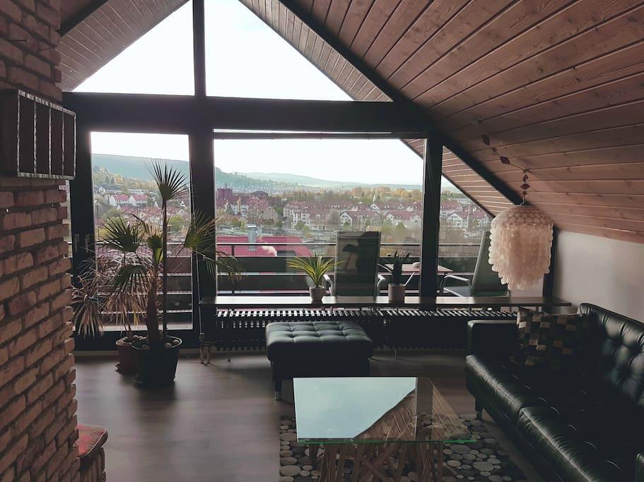 Dachgeschoßwohnung mit einzigartiger Aussicht