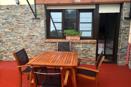 Apartamento céntrico Llanes terraza - Llanes