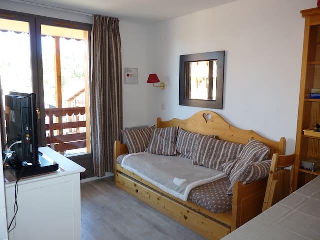 """Appartement 6 p / 5è  """"vue sur montagne et pistes"""" - Risoul - Apartment"""