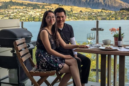 Lakeside King Bedroom + Own Bathroom Close to Town - Queenstown - Byt