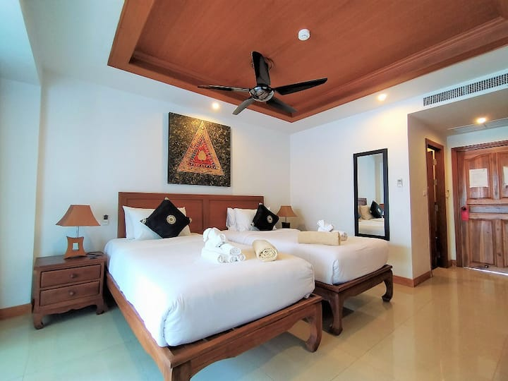 SD2 Apartment at Surin beach  10% more Weekly stay