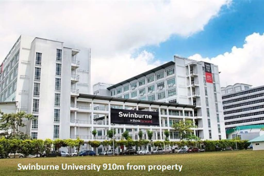 Swinburne University - 910m from property