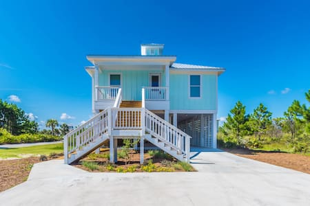 Cool NEW Beach HOME-Steps 2 SEA & POOL-Morgantown