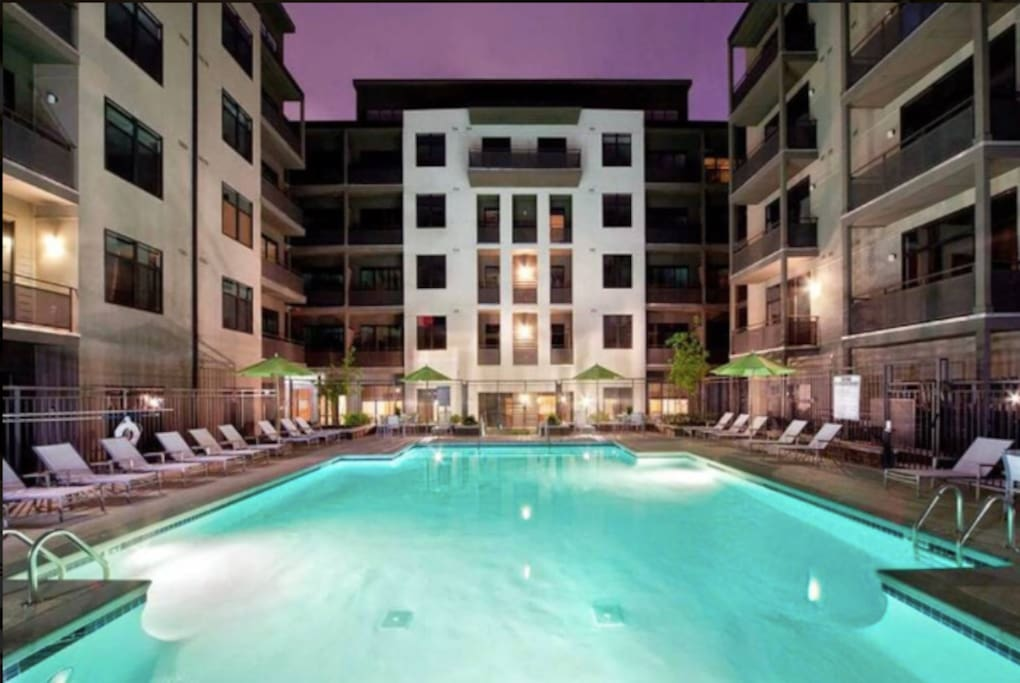 Pool  (Located on the apartment Complex)