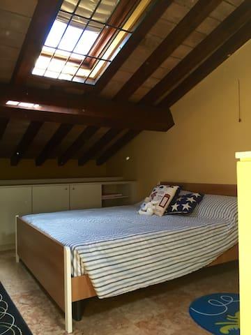Modena, mansarda romantica e accogliente - Modena - Appartamento