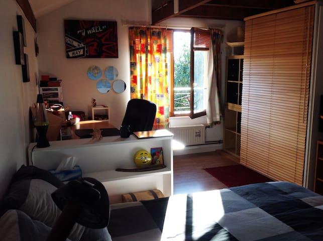 Chambre privée cosy à 10mn de Paris - Viry-Châtillon - House
